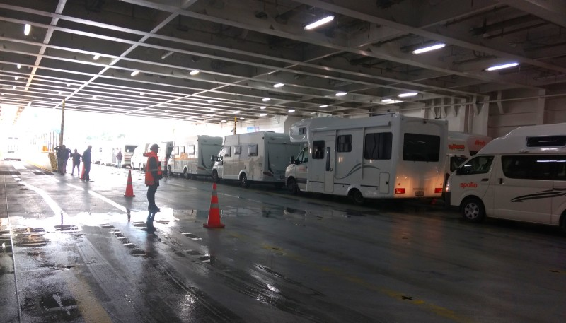 20190114 Interislander Vehicle Deck