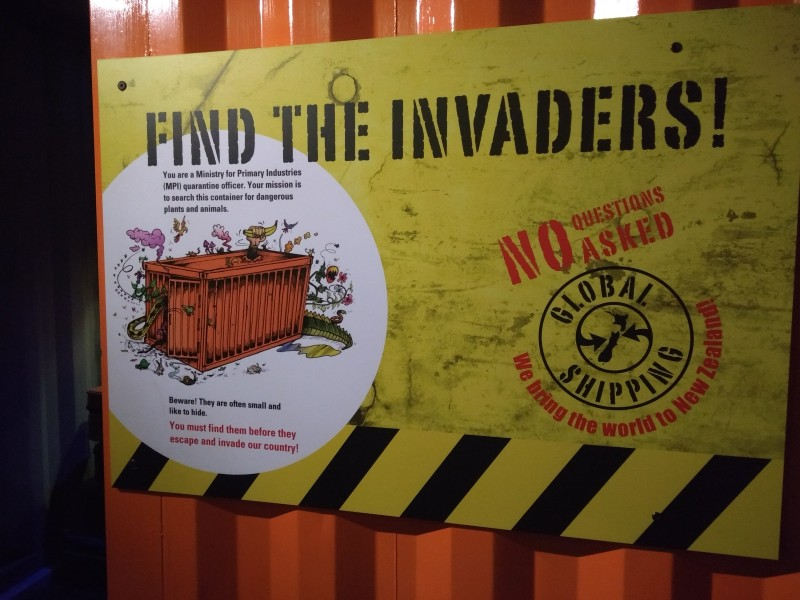 20190115 Wellington Te Papa Invaders